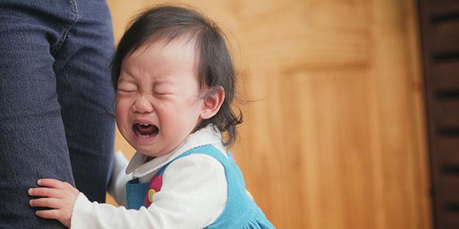 اضطراب جدایی کودکان